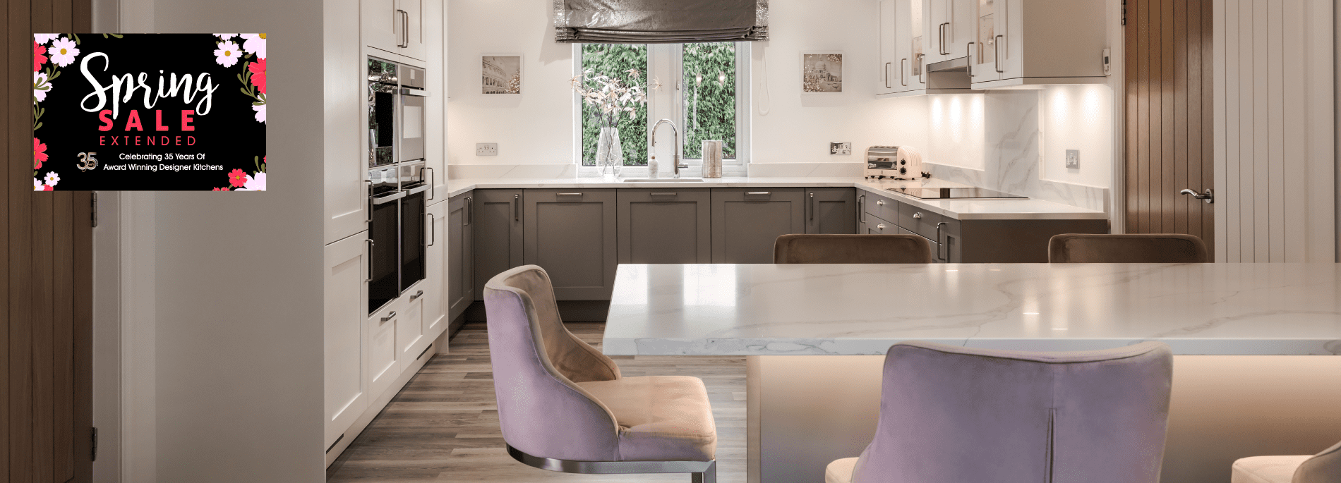WIN £3,500 cashback on your dream kitchen!