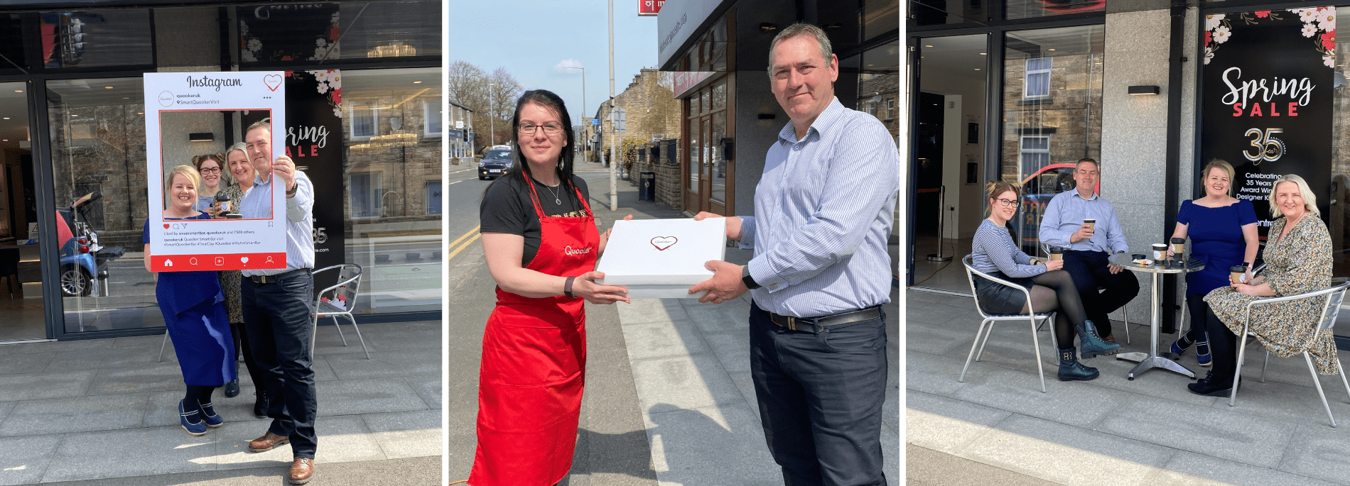 A SMART treat from Quooker delights our Barrowford kitchen designers!